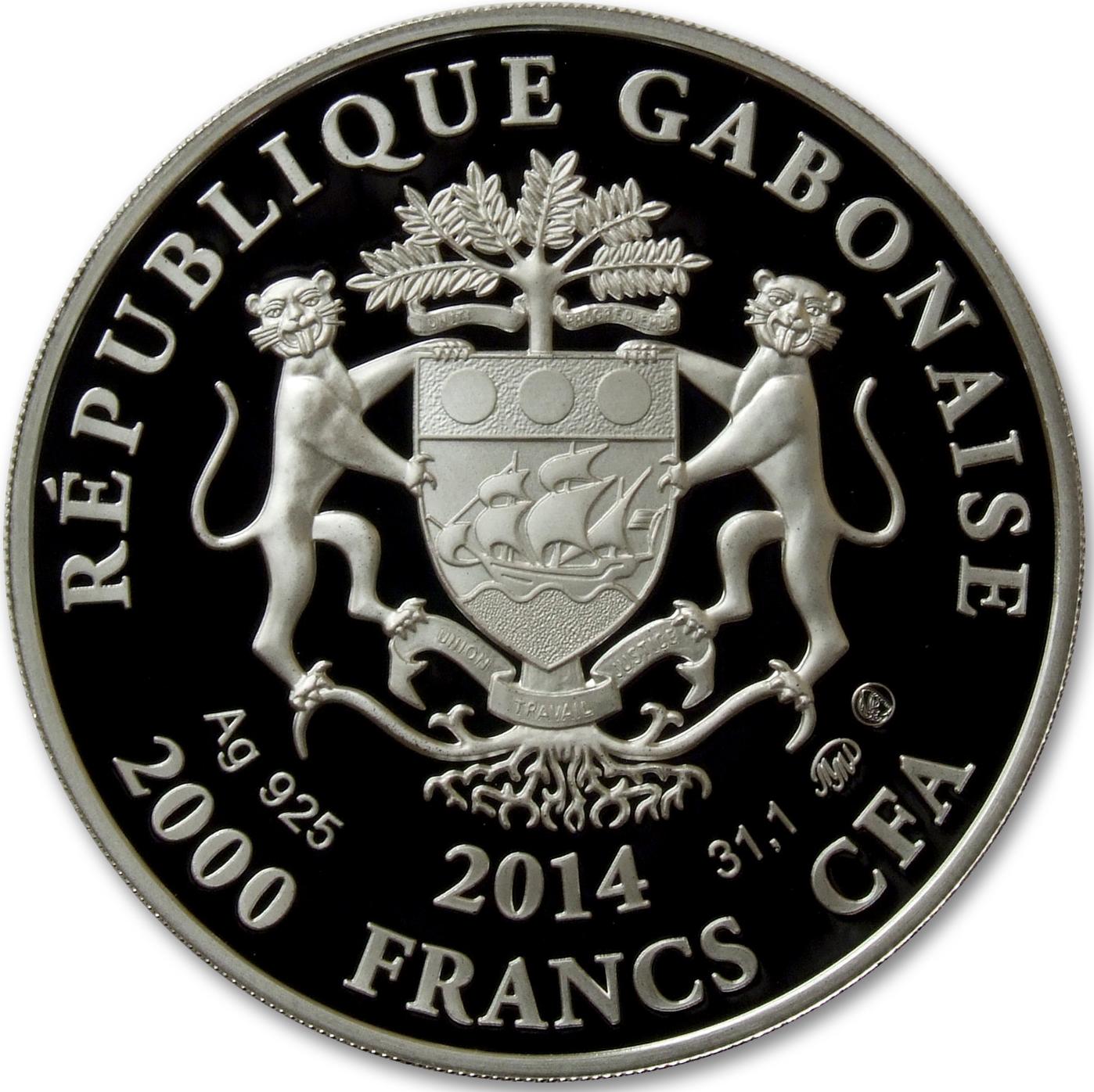 Серебряная монета скорпион габон франция купить копии российских монет